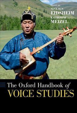 Oxford Handbook of Voice Studies book cover